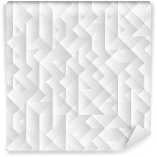 Fototapeta Winylowa 3d geometryczne tło szare