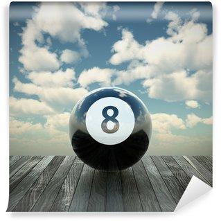 Vinylová Fototapeta 8 ball 3d ilustrace