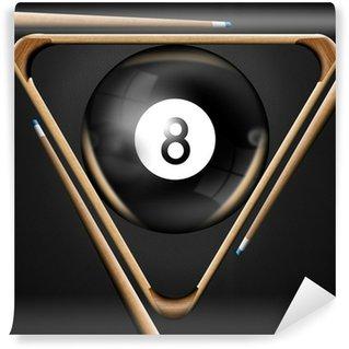 Vinylová Fototapeta 8 billiard pool hry