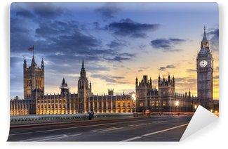 Vinylová Fototapeta Abbaye de Westminster Big Ben v Londýně