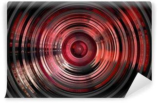 Vinylová Fototapeta Abstract hypnotický 3D pozadí
