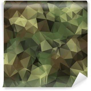 Vinylová Fototapeta Abstract Vector Military Camouflage Background