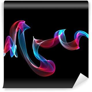 Fototapeta Winylowa Abstrakcyjne kolorowe wstążki