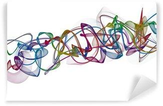 Fototapeta Winylowa Abstrakcyjne skręcone fale
