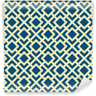 Vinylová Fototapeta Abstrakt Seamless Geometrická Art Deco Mříž Vector Pattern