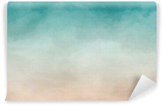 Vinylová Fototapeta Abstraktní akvarel textury