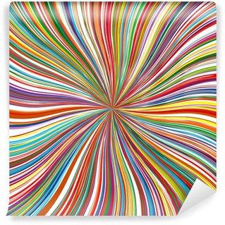 Vinylová Fototapeta Abstraktní barevné zoom pruhy na pozadí