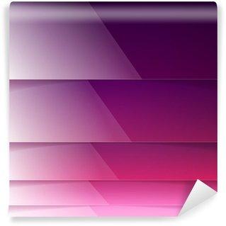 Vinylová Fototapeta Abstraktní fialová zářící obdélník tvary vektor pozadí