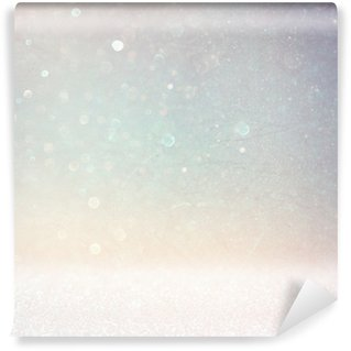 Vinylová Fototapeta Abstraktní fotografie světlo praskla a třpytu bokeh světla. obrázek