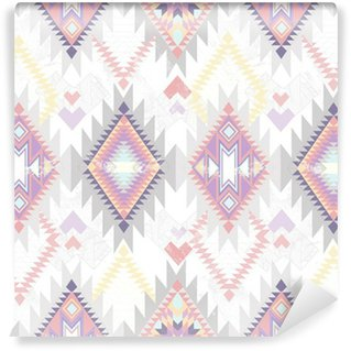 Vinylová Fototapeta Abstraktní geometrické bezešvé aztec vzor.