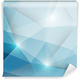 Vinylová Fototapeta Abstraktní geometrické trojúhelníky pozadí