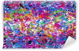 Vinylová Fototapeta Abstraktní graffiti