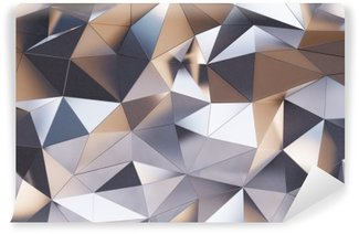 Vinylová Fototapeta Abstraktní kovová nástěnná