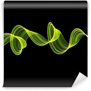 Vinylová Fototapeta Abstraktní kroucené vlny