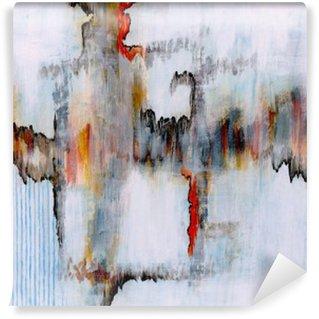 Vinylová Fototapeta Abstraktní malbu
