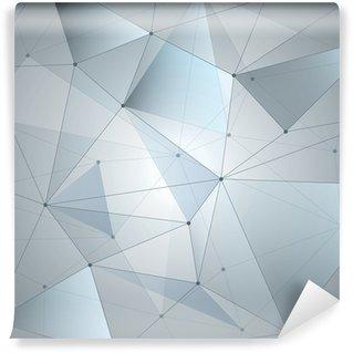 Vinylová Fototapeta Abstraktní pozadí, geometrie, linie a body