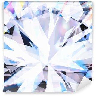 Vinylová Fototapeta Abstraktní pozadí, zblízka brilantní diamant