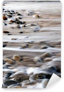 Vinylová Fototapeta Abstraktní skály a voda na pobřeží