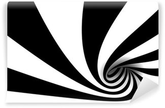 Vinylová Fototapeta Abstraktní spirála