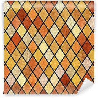 Vinylová Fototapeta Abstraktní vitráž okna pozadí
