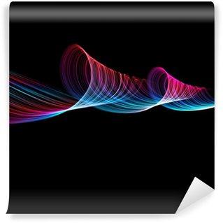Vinylová Fototapeta Abstraktní vlny