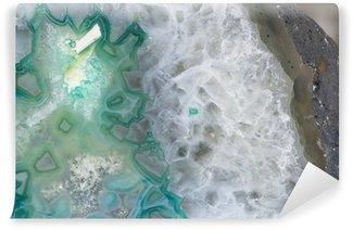 Vinylová Fototapeta Achát kámen - abstraktní vzor, pozadí