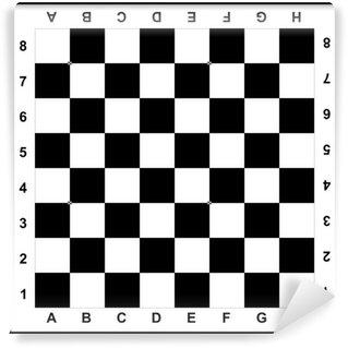 Vinylová Fototapeta šachovnice