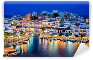 Fototapeta Winylowa Agios Nikolaos, Kreta, Grecja