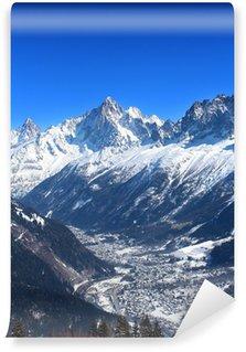 Vinylová Fototapeta Aiguille Verte - Les Houches / Chamonix (Haute-Savoie)