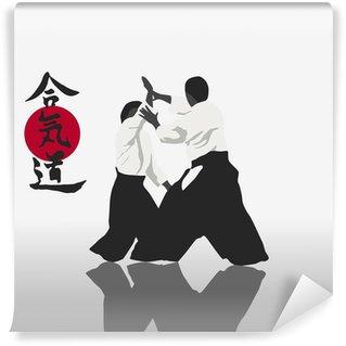 Vinylová Fototapeta Aikido