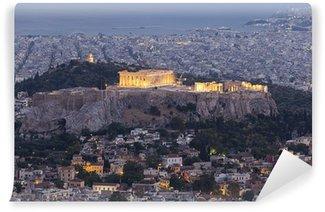 Vinylová Fototapeta Akropole a Parthenon, Atény, Řecko
