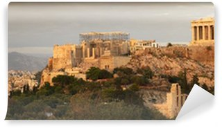 Vinylová Fototapeta Akropolis panoramatický výhled