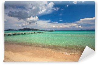 Vinylová Fototapeta Alcudia pláž, Mallorca