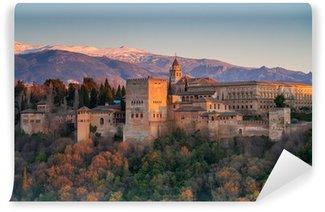 Vinylová Fototapeta Alhambra Palace, Granada, Španělsko