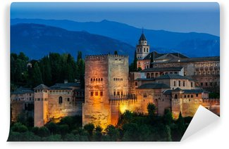 Vinylová Fototapeta Alhambra Palace v Granada, Španělsko