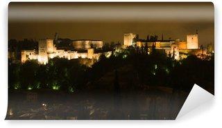 Vinylová Fototapeta Alhambra v noci