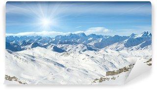 Vinylová Fototapeta Alp, Val Thorens, Francie