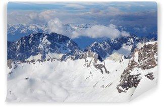 Fototapeta Winylowa Alps górskim