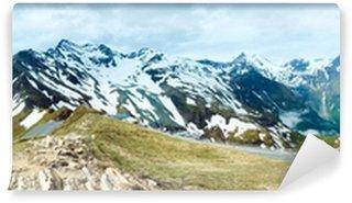 Fototapeta Winylowa Alps summer panorama.