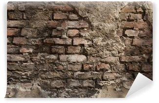 Vinylová Fototapeta Alte Wand - Hintergrund - backstein