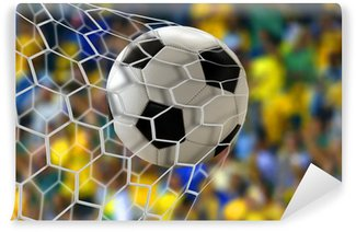 Vinylová Fototapeta Amazing fotbalová brána