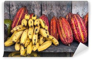 Fototapeta Winylowa Ameryka Łacińska targ owoców
