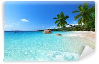 Vinylová Fototapeta Anse Lazio Beach na ostrově Praslin, Seychely