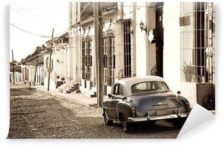 Fototapeta Vinylowa Antique samochód, Trinidad