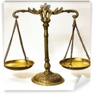 Fototapeta Winylowa Antyczny skalę, że w tworzeniu równowagi .. skalę Justice ...