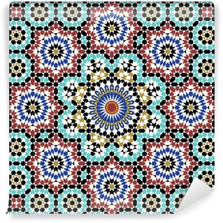 Vinylová Fototapeta Anvar Moorish Pattern