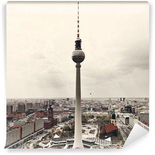 Vinylová Fototapeta Apokalyptický pohled na Berlín Skyline