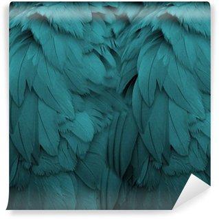 Vinylová Fototapeta Aqua Feathers