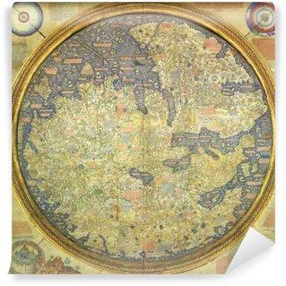 Vinylová Fototapeta Arabic staré mapy