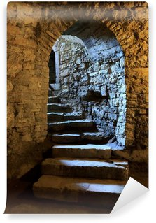 Fototapeta Winylowa Arch w podziemnym zamku